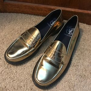 Cole Haan Pinch metallic penny loafers, 7